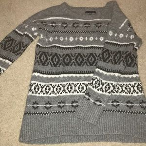 AEO Cotton Patterned Sweater